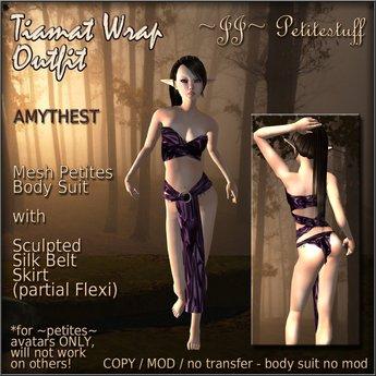 ~JJ~ Petitestuff Tiamat Wrap Outfit (amythest)