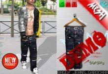 DEMO**[BuFu] Baggy_Jeans MESH_Gabochar