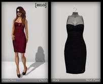 {bilo} Annaya Dress:  Black MESH