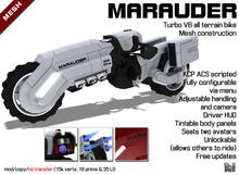 DVW Marauder Motorcycle