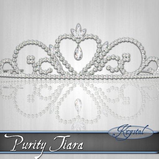 Purity Tiara - Platinum