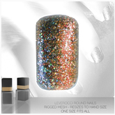 [MESH] Leverocci - Round Rigged Mesh Nails_1FA_LizardGlitter