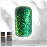 [MESH] Leverocci - Round Rigged Mesh Nails_1FA_EmeraldGlitter
