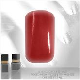 [MESH] Leverocci - Round Rigged Mesh Nails_1FA_ScarlettPlain