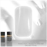 [MESH] Leverocci - Round Rigged Mesh Nails_1FA_WhitePlain