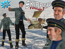 Skipper, a seaman of the Steampunk era
