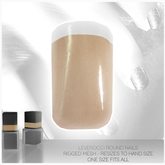 [MESH] Leverocci - Round Rigged Mesh Nails_1FA_NudeManicure
