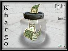 Khargo: Tip Jar/ Tipjar - Multifunction / Configurable / Split Tips