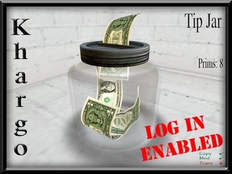 Khargo: Tip Jar / Tipjar - Log In Version for Clubs / Employees / Split Tips