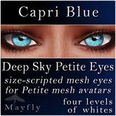 Mayfly - Deep Sky Petite Eyes (Capri Blue)
