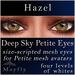 Mayfly - Deep Sky Petite Eyes (Hazel)