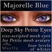 Mayfly - Deep Sky Petite Eyes (Majorelle Blue)