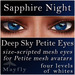 Mayfly - Deep Sky Petite Eyes (Sapphire Night)