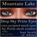 Mayfly - Deep Sky Petite Eyes (Mountain Lake)
