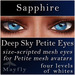 Mayfly - Deep Sky Petite Eyes (Sapphire)