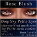 Mayfly - Deep Sky Petite Eyes (Rose Blush)