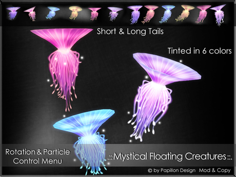 .:: PaPiLLoN Design ::. Mystical Floating Creatures