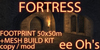 FORTRESS CASTLE + MESH BUILD KIT v1