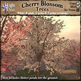 *LightStar- Cherry Blossom Trees