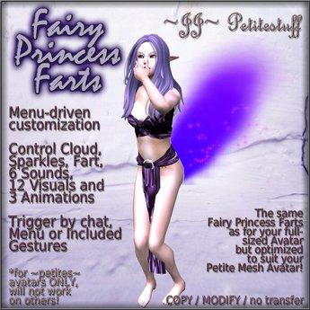~JJ~ Petitestuff Fairy Princess Farts