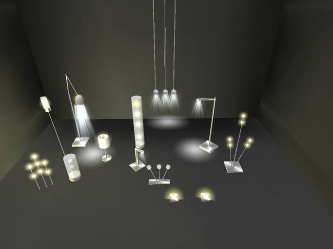 Lamp and Light Pack, 11 assorted lights