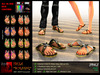 iNEDIT-Footwear049 *Ibiza* Burning - Sandals in Unlimited colors with flames and skull motives
