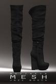 Maitreya Mesh Jazz Boots * Black