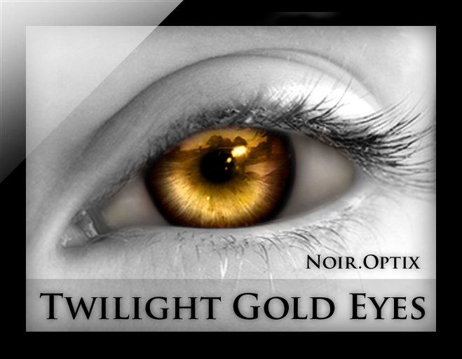 NoirOptix - Twilight Gold Eyes (3 Sizes)