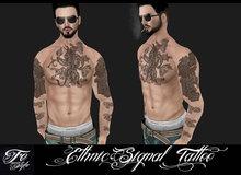 ::Fe Style:: Ethnic Signal  Tattoo