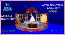Wedding INVITATION KARY WITH SOUND