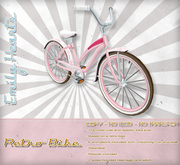 [Emily Hearts] - Retro Bicycle for Women - MD3 [Promo Discontinued]