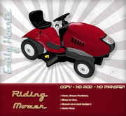 [Emily Hearts] - Riding Mower Red
