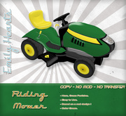 [Emily Hearts] - Riding Mower Yellow Green