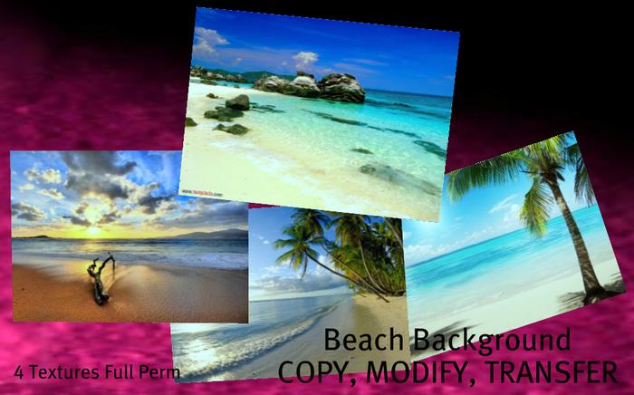 ~ALIRA~ Background Beach