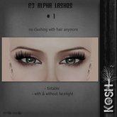 KOSH- NO ALPHA LASHES V1