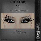 KOSH- NO ALPHA LASHES V6