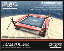 Tiki Tattoo - Trampoline for your beach, included 8 Multi animations + JUMP for all