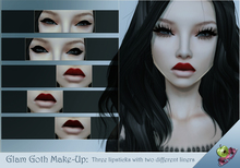 {D.A} Glam Goth Make-up