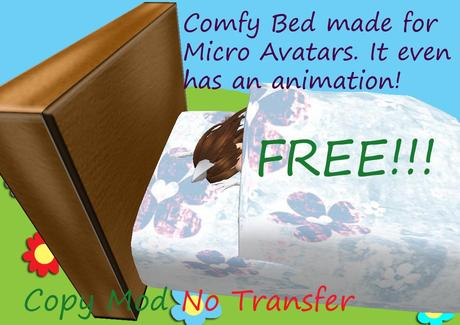 Free Micro Avatar Bed
