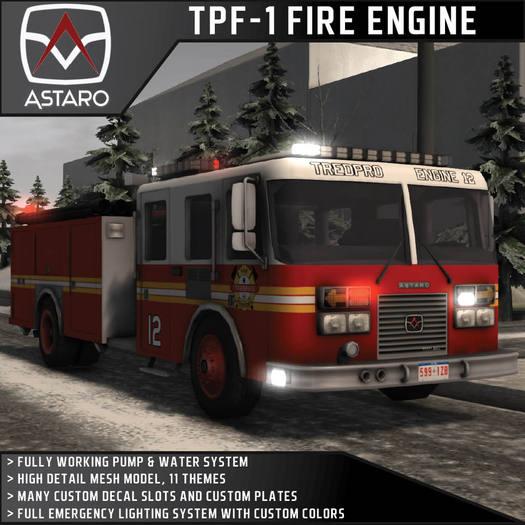 Astaro TPF-1 Fire Engine / Fire Truck