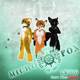 SEC Micro Fox - Fully Articulated Micro Avatar!