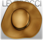 [Mesh] Leverocci - SS12 Field Hat_Leather_Sunflower