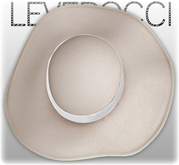 [Mesh] Leverocci - SS12 Field Hat_Synthetic Tweed_Off-White