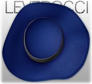 [Mesh] Leverocci - SS12 Field Hat_Synthetic Tweed_Prussian Blue
