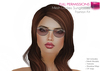 Full Perm Mesh Fashion Glasses