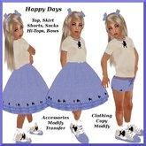 50's Poodle Skirt Costume (kid)