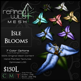 - Isle Blooms - A Mesh Product by Khyle Sion at ~Refined Wild~