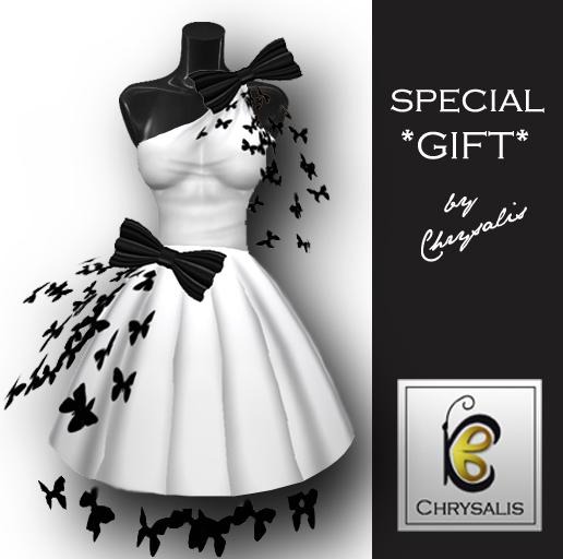 Chrysalis - Bows & Butterflies dress *Special Gift*