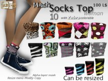 EB Atelier- 10 Mesh_Socks Top MIX RESIZE & MODIFY- italian designer