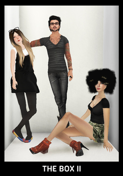 """[50% OFF PROMOTION]-WDK- """"The Box II"""" group pose w/ walls"""